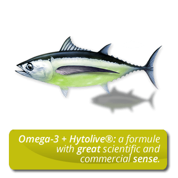 Omega-3 + Hytolive<sup>®</sup>: a formule with great scientific and commercial sense.